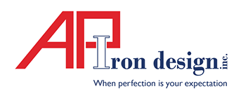 AP Iron Design Logo